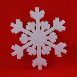 Śnieżynka styropianowa