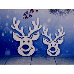 Renifery świąteczne