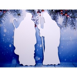 Jasełka, zestaw dekoracji świątecznych